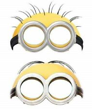 1x Pack of 6 Despicable Me - Minions Face Masks - by AMSCAN