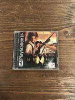 PLAYSTATION THE MUMMY PS1 GAME COMPLETE BLACK LABEL - WORKS GREAT!!
