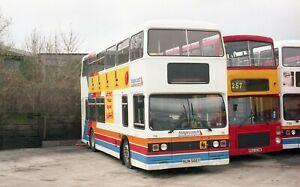 Original colour negative, London Transport, Leyland Titan, NUW566Y, Sc Fife