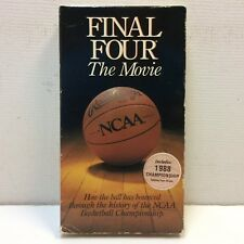 1988 FINAL FOUR - THE MOVIE VHS Tape JORDAN BIRD MAGIC WOODEN SMITH WEST RUSSELL