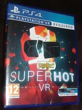 Superhot VR Playstation 4 PS4 PSVR REQUIRED NEW SEALED FREE UK post