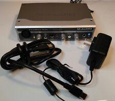 M-Audio FireWire Solo Microphone Guitar SPDIF  Digital Recording Interface