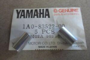 YAMAHA RD250  RD400  GENUINE NOS SPEEDO / TACHO MOUNT COLLARS - # 1A0-83522-00