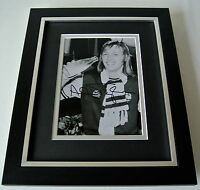 Alan Taylor SIGNED 10X8 FRAMED Photo Autograph Display West Ham 1975 FA Cup COA
