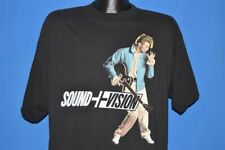 New listing vintage 90s David Bowie Sound And Vision World Tour 1990 Black Rock t-shirt Xl