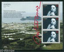 1996 Azoren blok 15 Europa CEPT - Beroemde vrouwen