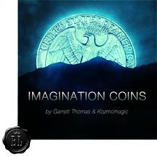 Imagination Coins US Quarter (DVD and Gimmicks) by Garrett Thomas and Kozmomagic