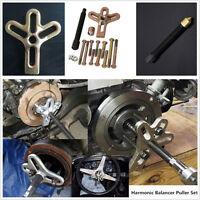 21X Car Harmonic Balancer Steering Wheel Puller Kit Gear Crankshaft Tool Pulley