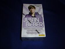 Justin Beiber 9 Packs (5 Cards each)  Panini 2010 Cards New/Sealed in Box