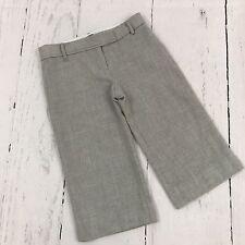 Bcbg Maxazria Gray 100% Wool Dress Bermuda Shorts Size 4 B14
