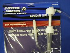 775610, NEW EVINRUDE OR JOHNSON OUTBOARD GEAR LUBE PUMP, FOR QUART BOTTLES