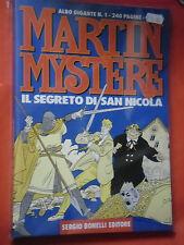 MARTIN MYSTERE- ALBO GIGANTE- N°1- segreto san nicola-  ED. BONELLI- ESAURITO