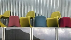 Recycled Vitra Panton Chair in Chartreuse