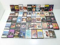 Vintage Music Cassette Tape Bundle Of 49