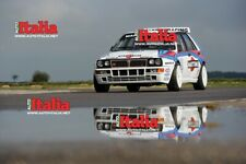 Lancia Delta integrale Martini high quality A2 print from Auto Italia