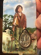 Francisco Prayer Of The Angel, Window Prayer Card & Charm