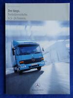 Mercedes-Benz LKW Atego Verteilerverkehr 6,5 - 26 t - Prospekt Brochure 01.2000