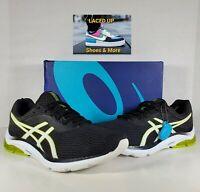 ASICS 1011A550 003 Gel Pulse 11 Black White Men's Running Shoes Size 10