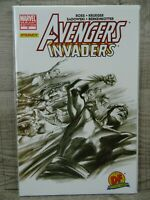 Marvel Comics Avengers Invaders #9 Comic Book Limited Edition Sketch Variant DF