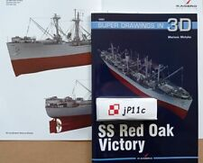 SS Red Oak Victory - Super Drawings in 3D - Kagero ENGLISH