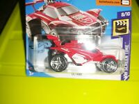 Hot Wheels OCTANE 8/10 HW Screen Time New 2020 Red Rocket League BOXED SHIPMENT