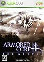 USED Xbox360 Armored Core for Answer