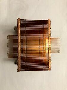 Passive + Silent Copper Cooler Heatsink For Socket 775 CPU