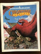 PC2 Dungeons & Dragons - Creature Crucible - Top Ballista - like new