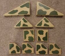 Fisher Price Construx Military Camo assorted Panels lot of 10