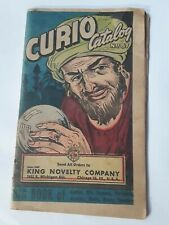 1944 Occult African American goods CURIO Catalog Mojo KING NOVELTY
