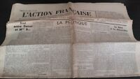 JOURNAL NATIONALISTE L'ACTION FRANCAISE 30 MAI 1934 N° 150  ABE