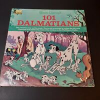 Vintage Lot 3 Disney Book Long Playing Records  Sleeping Beauty Dumbo Dalmations