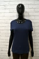 Maglia CHAMPION Donna Taglia XL Maglietta Blusa Shirt Woman Cotone Manica Corta