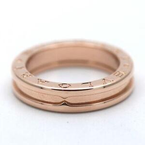 Bvlgari Bulgari B Zero 1 1- Band Ring 750 Gold 18 Kt Rosegold