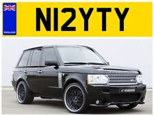 N12 YTY MRS KNIGHT KNIGHTS KNIGHTY KNIGHTYS NIGHTY NIGHTS PRIVATE NUMBER PLATE