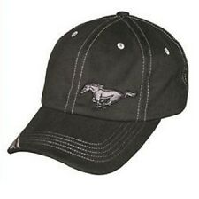 Ford Mustang Cap Hat Black Mach 1 GT SVT