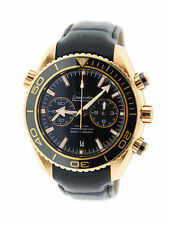 Omega Seamaster Planet Ocean Chronograph 18K Rose Gold Watch 232.63.46.51.01.001