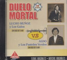 Lucho Munoz y Los Galos Duelo Mortal VS Aldo y Los Pasteles Verdes CD New Sealed