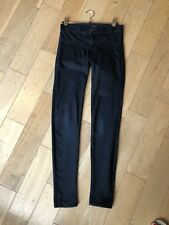 J BRAND Dark blue Navy Super skinny 'coat Steal' Jeans, Size 25 (Pulled Elastic)