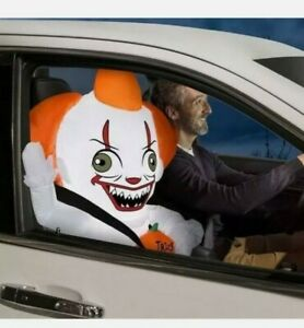 Pennywise the Clown IT Airblown Inflatable Car Buddy 12 Volt Only Halloween 2021