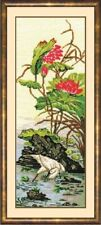 Counted Cross Stitch Kit MAKE YOUR OWN HANDS K-35 - Chinese motifs. Heron