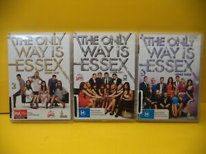 THE ONLY WAY IS ESSEX THE COMPLETE SEASONS 1-3 DVD
