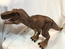 T Rex Dinosaur Smithsonian Wireless Remote Control  Walks Sounds NO REMOTE
