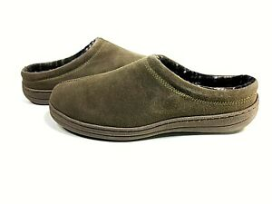 Rockport Men's Memory Foam Cow Suede Slip-On Clog Shoes US Size 9 New
