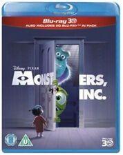 Monsters, Inc. 3D (3D Blu-ray, 2013)