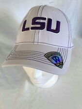 LSU Top of the World White One Fit Baseball Cap