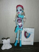 Monster High Abbey Bominable Doll Art Class 2013 COMPLETE