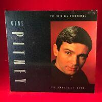 Gene Pitney The Original Recordings 20 Greatest Hits 1989 UK VINYL LP best Of
