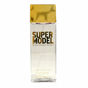 Victoria's Secret Super Model Sheer Fragrance Mist Body Spray 8.4 Fl Oz Damaged