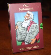 Old Testament Learning Cards -Colorful Picture, Key Facts & Scriptural Reference